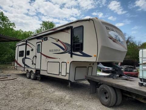 2011 A Blue Ridge Rv Fifth Wheel  By Forest River  for sale at C.J. AUTO SALES llc. in San Antonio TX