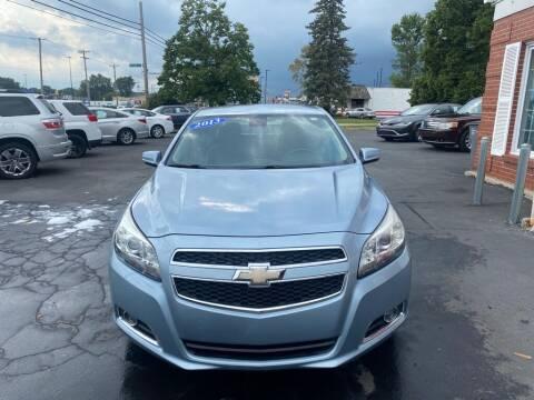 2013 Chevrolet Malibu for sale at Motornation Auto Sales in Toledo OH