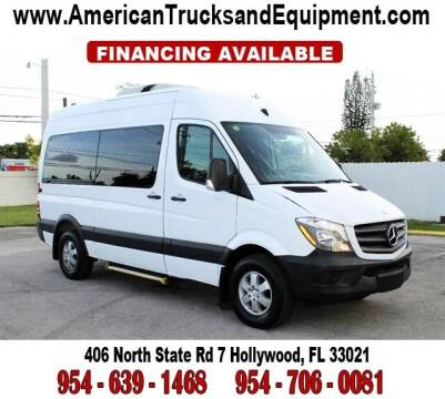 2015 Mercedes-Benz Sprinter for sale at American Trucks and Equipment in Hollywood FL