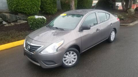 2015 Nissan Versa for sale at SS MOTORS LLC in Edmonds WA