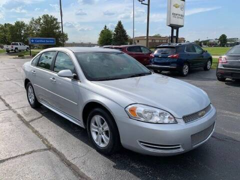 2012 Chevrolet Impala for sale at Dunn Chevrolet in Oregon OH