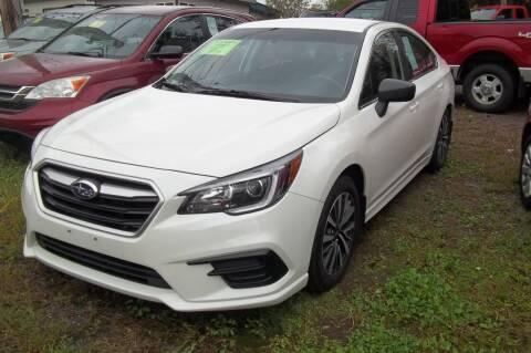 2018 Subaru Legacy for sale at Warner's Auto Body of Granville Inc in Granville NY