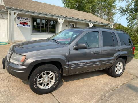 2004 Jeep Grand Cherokee for sale at Brewer's Auto Sales in Greenwood MO