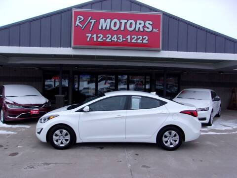2016 Hyundai Elantra for sale at RT Motors Inc in Atlantic IA