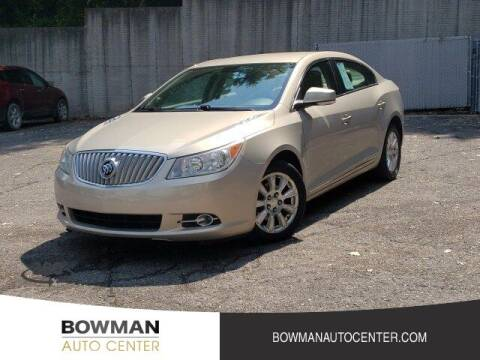 2012 Buick LaCrosse for sale at Bowman Auto Center in Clarkston MI