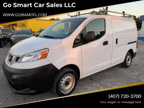 2016 Nissan NV200 for sale at Go Smart Car Sales LLC in Winter Garden FL