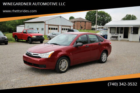2009 Ford Focus for sale at WINEGARDNER AUTOMOTIVE LLC in New Lexington OH