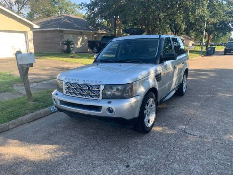 2006 Land Rover Range Rover Sport for sale at Demetry Automotive in Houston TX