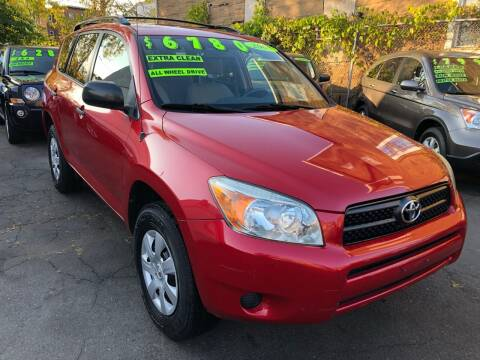 2008 Toyota RAV4 for sale at James Motor Cars in Hartford CT