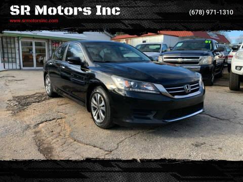 2013 Honda Accord for sale at SR Motors Inc in Gainesville GA