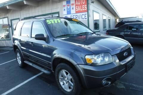 2006 Ford Escape for sale at 777 Auto Sales and Service in Tacoma WA