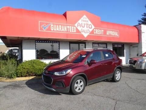 2017 Chevrolet Trax for sale at Oak Park Auto Sales in Oak Park MI