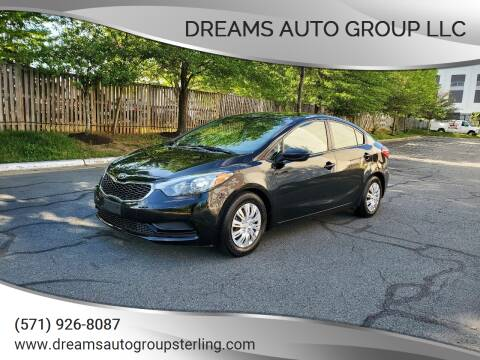 2015 Kia Forte for sale at Dreams Auto Group LLC in Sterling VA