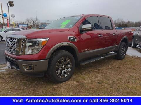 2017 Nissan Titan for sale at Autotec Auto Sales in Vineland NJ