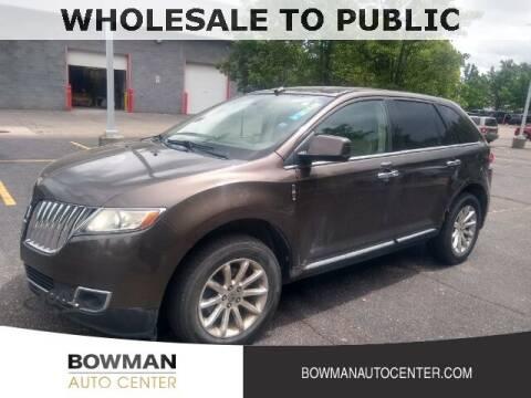 2011 Lincoln MKX for sale at Bowman Auto Center in Clarkston MI