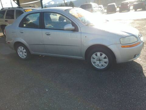 2005 Chevrolet Aveo for sale at Low Auto Sales in Sedro Woolley WA