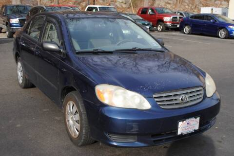 2004 Toyota Corolla for sale at Ramsey Corp. in West Milford NJ