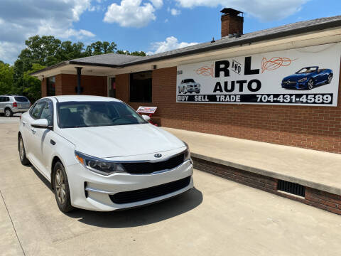 2016 Kia Optima for sale at R & L Autos in Salisbury NC