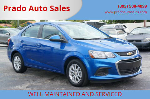2019 Chevrolet Sonic for sale at Prado Auto Sales in Miami FL
