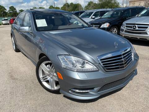 2012 Mercedes-Benz S-Class for sale at KAYALAR MOTORS in Houston TX
