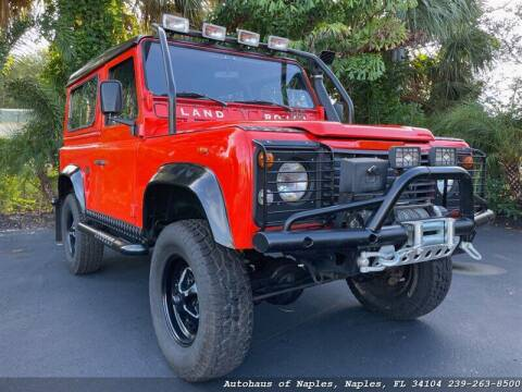 1987 Land Rover Defender for sale at Autohaus of Naples in Naples FL