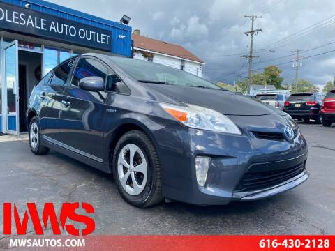 2013 Toyota Prius for sale at MWS Wholesale  Auto Outlet in Grand Rapids MI