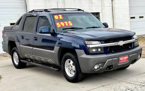 2002 Chevrolet Avalanche for sale at SOLOMA AUTO SALES in Grand Island NE