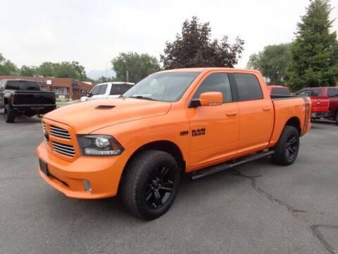 2017 RAM Ram Pickup 1500 for sale at State Street Truck Stop in Sandy UT