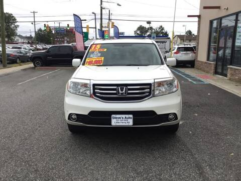 2015 Honda Pilot for sale at Steves Auto Sales in Little Ferry NJ