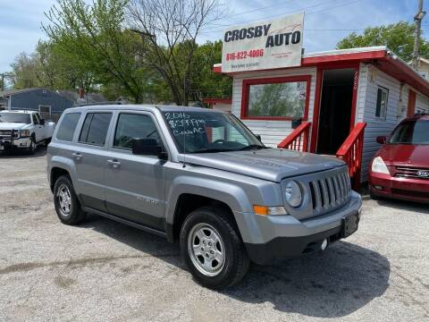 2016 Jeep Patriot for sale at Crosby Auto LLC in Kansas City MO