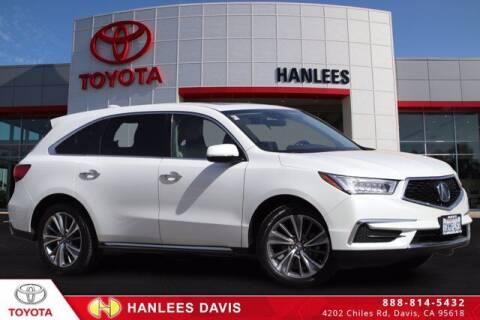 2017 Acura MDX for sale at Hanlees Davis Toyota in Davis CA