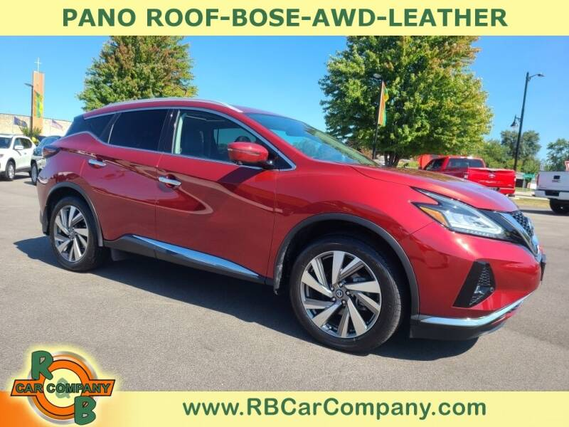 2020 Nissan Murano for sale at R & B Car Company in South Bend IN