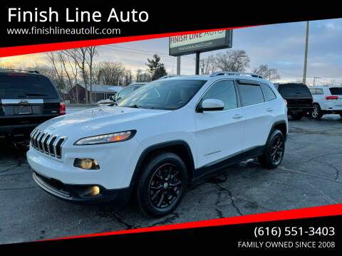 2015 Jeep Cherokee for sale at Finish Line Auto in Comstock Park MI