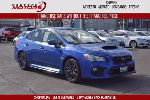 2020 Subaru WRX for sale at Choice Motors in Merced CA