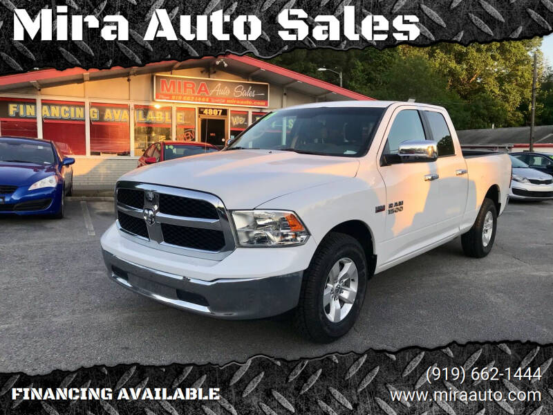 2017 RAM Ram Pickup 1500 for sale at Mira Auto Sales in Raleigh NC