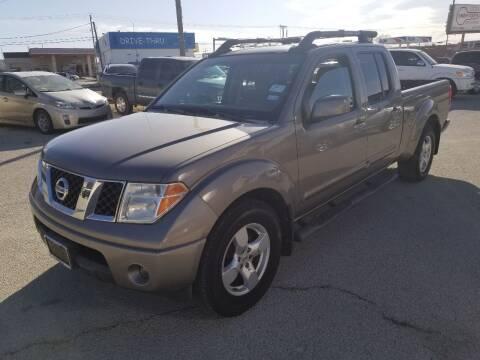 2007 Nissan Frontier for sale at Key City Motors in Abilene TX