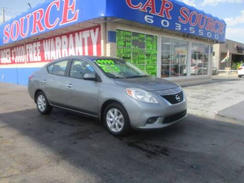 2012 Nissan Versa for sale at Car One - CAR SOURCE OKC in Oklahoma City OK