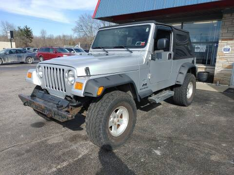 2005 Jeep Wrangler for sale at Cruisin' Auto Sales in Madison IN