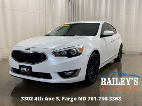 2015 Kia Cadenza for sale at Bailey's Auto Sales in Fargo ND