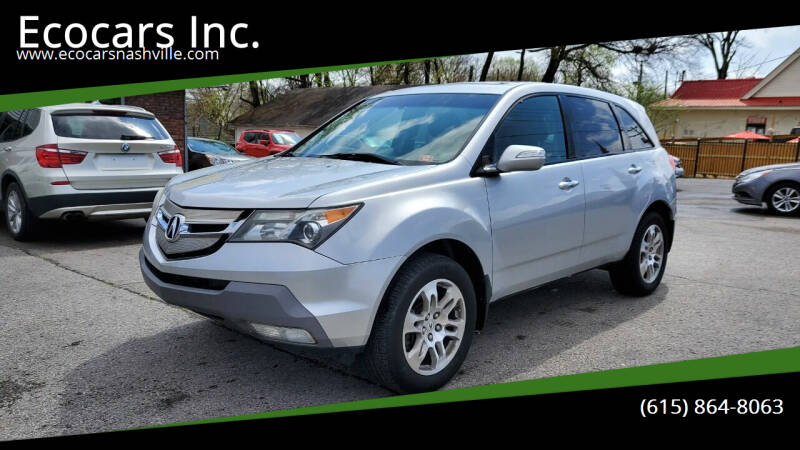 2007 Acura MDX for sale at Ecocars Inc. in Nashville TN