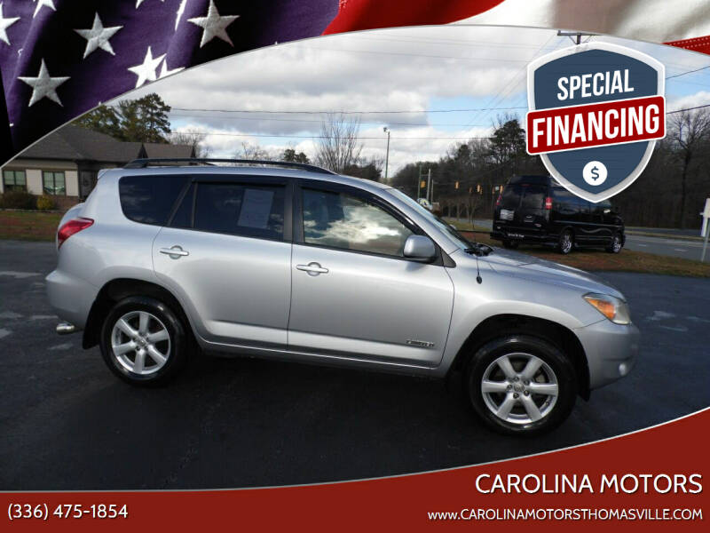 2006 Toyota RAV4 for sale at CAROLINA MOTORS in Thomasville NC