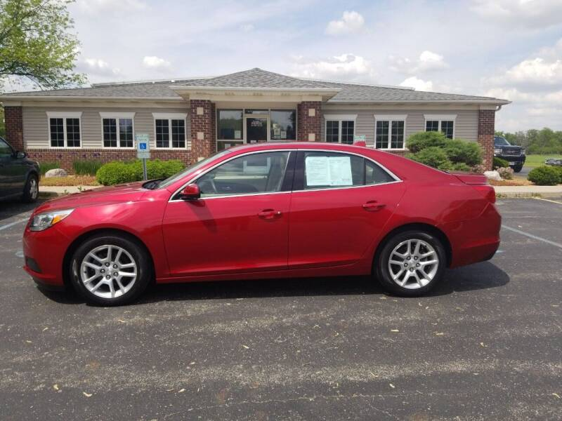 2013 Chevrolet Malibu for sale at Pierce Automotive, Inc. in Antwerp OH