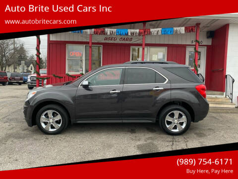 2015 Chevrolet Equinox for sale at Auto Brite Used Cars Inc in Saginaw MI