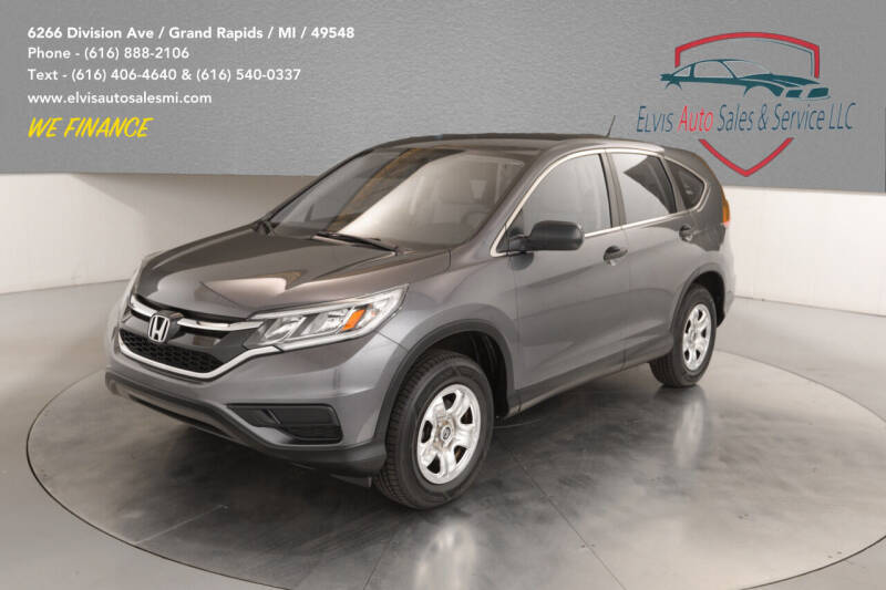 2015 Honda CR-V for sale at Elvis Auto Sales LLC in Grand Rapids MI