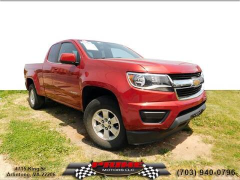 2016 Chevrolet Colorado for sale at PRIME MOTORS LLC in Arlington VA
