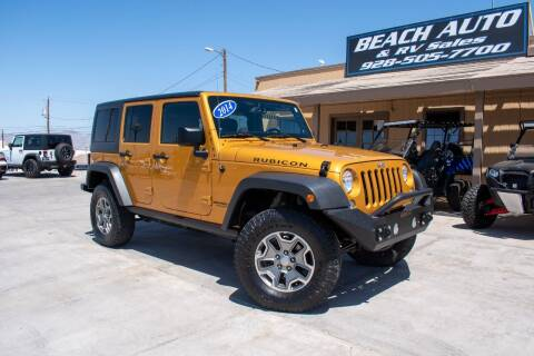 2014 Jeep Wrangler Unlimited for sale at Beach Auto and RV Sales in Lake Havasu City AZ