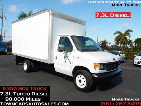 1998 Ford E-350 for sale at Town Cars Auto Sales in West Palm Beach FL