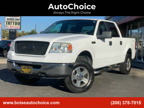 2006 Ford F-150 for sale at AutoChoice in Boise ID
