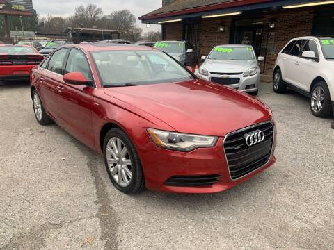 2014 Audi A6 for sale at Super Wheels-N-Deals in Memphis TN