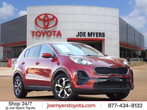 2020 Kia Sportage for sale at Joe Myers Toyota PreOwned in Houston TX